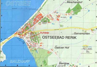 rerik karte Ostsee Rerik Karte   hanzeontwerpfabriek